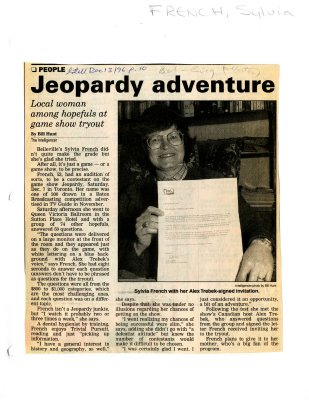 Jeopardy adventure