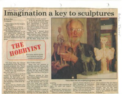 Imagination a key to sculptures