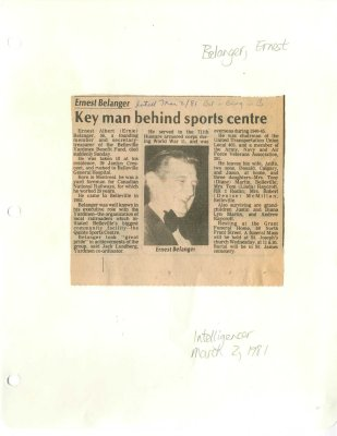 Key man behind sports centre