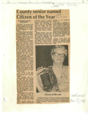 County senior named Citizen of the Year