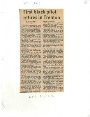 First black pilot retires in Trenton