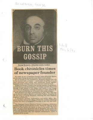 Book chronicles times of newspaper founder