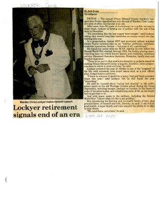 Lockyer retirement signals end of an era