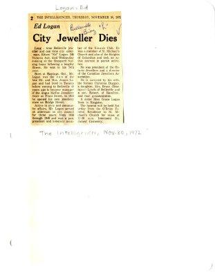 City Jeweller dies