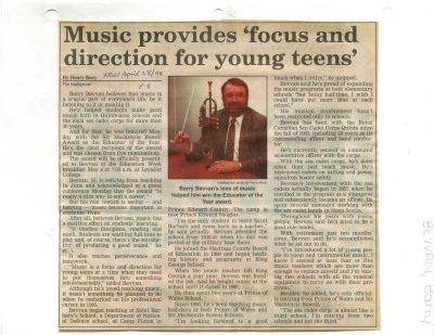 Music provides 'focus and direction for young teens'