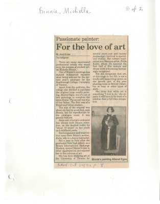 Passionate painter: For the love of art