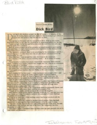 For Love of the Bay: Dick Bird