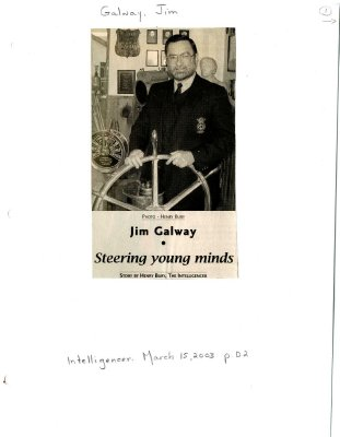 Jim Galway: steering young minds
