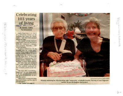 Celebrating 103 years of living