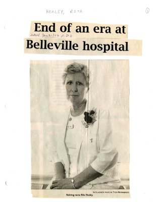 End of an era at Belleville hospital