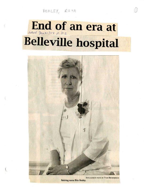 End of an era at Belleville hospital