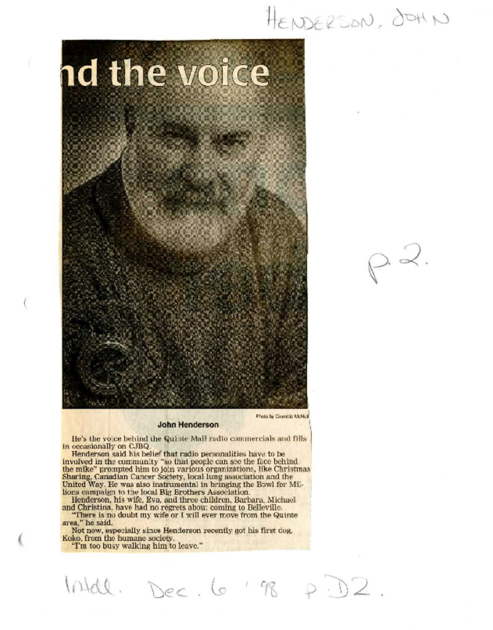 The man behind the voice