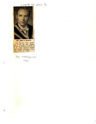 Mr. John E. Hewitt