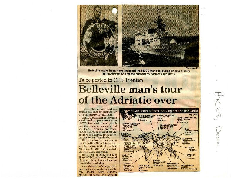 Belleville man's tour of the Adriatic over