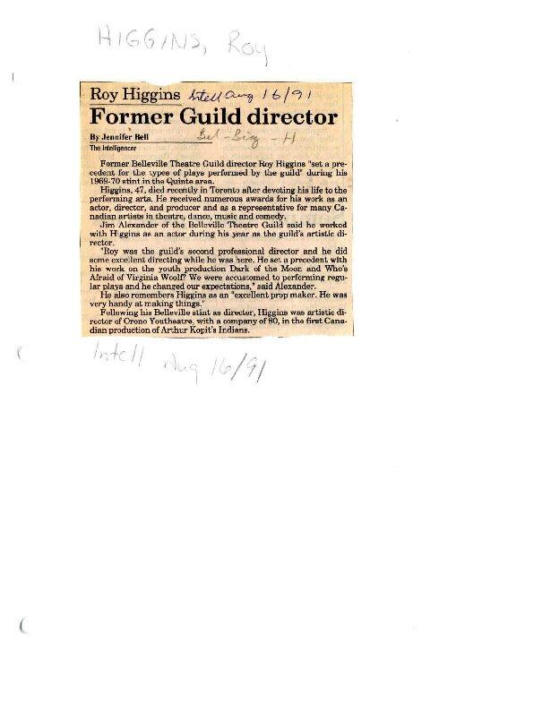 Former Guild director