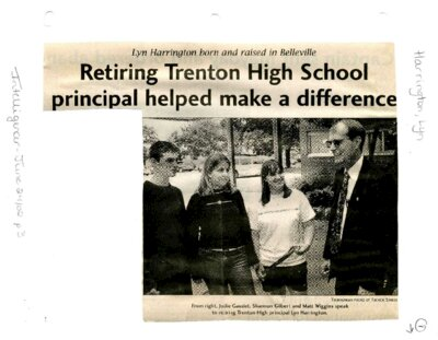 Retiring Trenton High School principal helped make a difference
