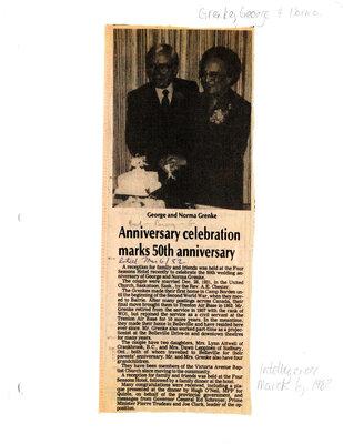 Anniversary celebration marks 50th anniversary