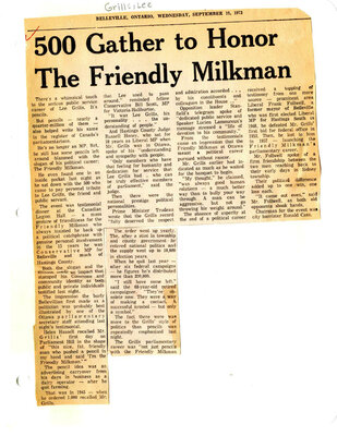 500 gather to honor The Friendly Milkman