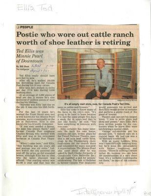 Postie who wore out cattle ranch worth of shoe leather is retiring