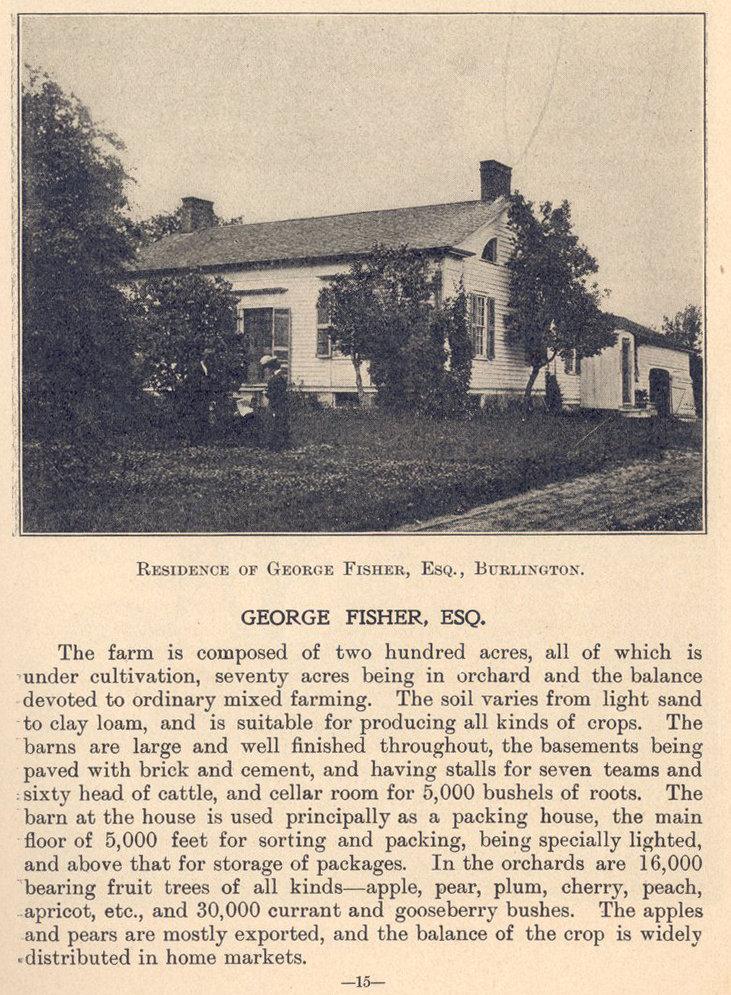 Garden of canada page 15 burlington historical society for The gardener burlington
