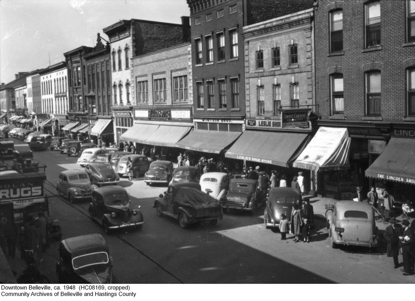 downtown belleville  belleville history alive