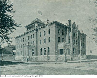 Original Hotel Quinte c.a. 1895
