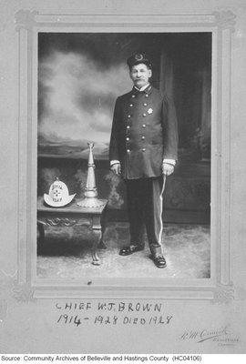 Fire Chief W.J Brown