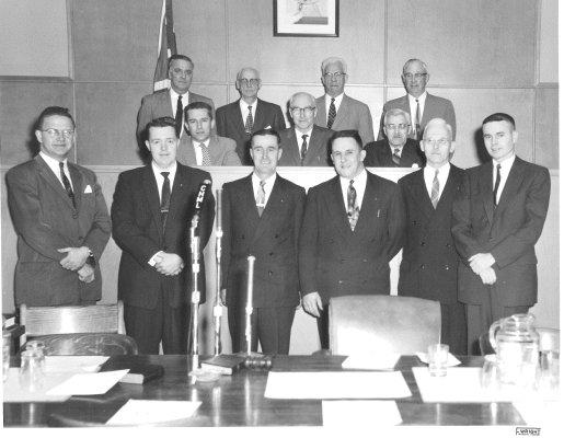 Town of Burlington - 1958 Council