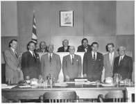 Town of Burlington - 1957 Council