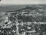 Aerial View of Burlington Waterfront