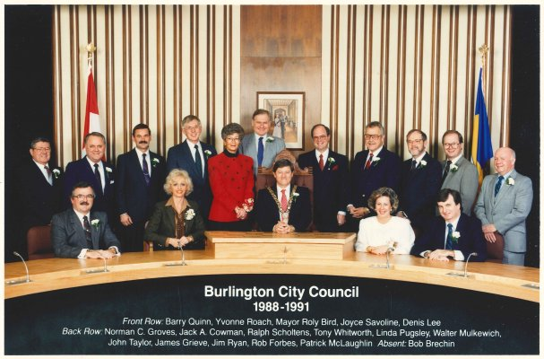 Burlington City Council 1988-1991