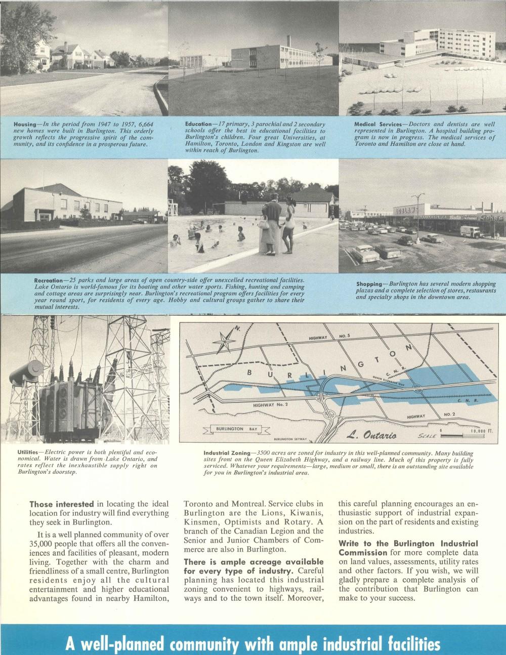 Burlington Business Development Brochure