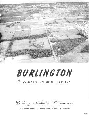 Burlington In Canada's Industrial Heartland Brochure
