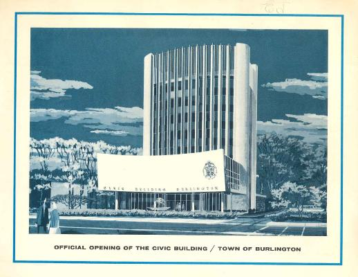 City Hall Opening Pamphlet