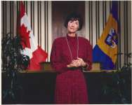 Mayor Mary Munro, City of Burlington Mayor 1977-1978