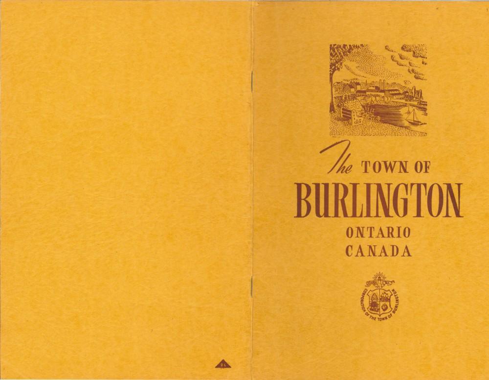 The Town of Burlington Booklet, 1945