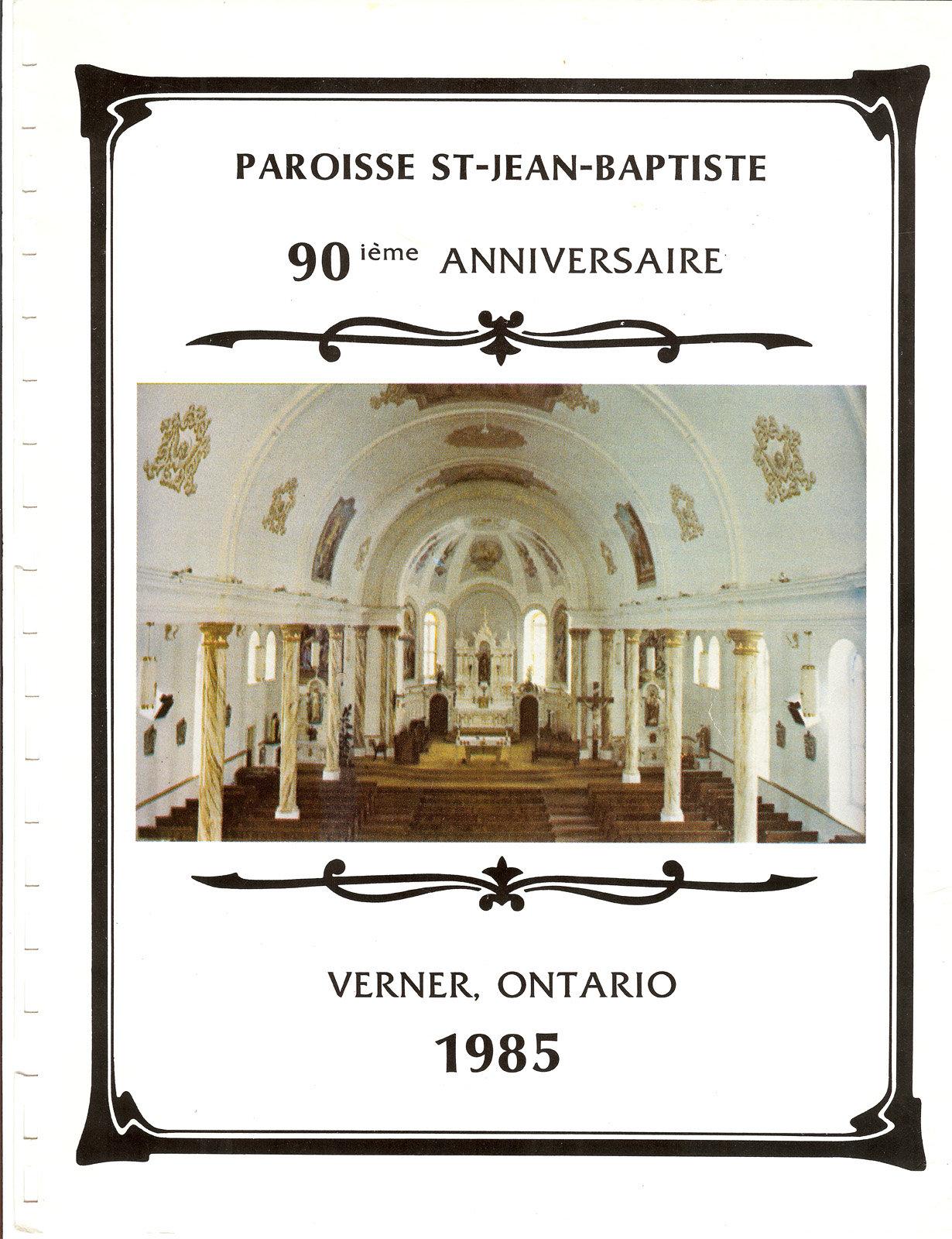 Paroisse St-Jean-Baptiste 90ième anniversaire