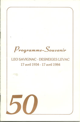 Programme-Souvenir