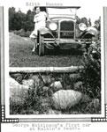 George Watkinson's first car