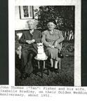 John Thomas Fisher and Isabelle Bradley Golden Wedding Anniversary