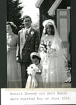 Ronald Downey and Dora Baker