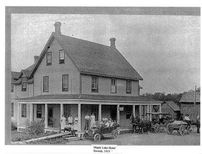 Maple Lake Hotel, Swords, 1913
