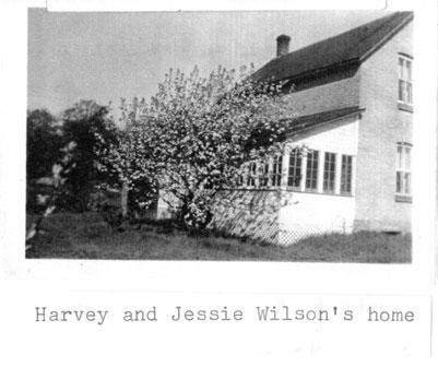 Harvey and Jessie Wilson's home