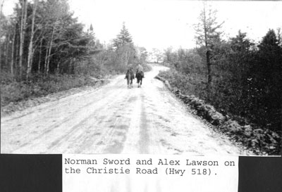 Norman Sword and Alex Lawson