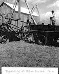 Threshing at Forbes' Farm