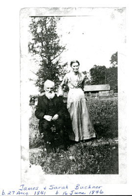James and Sarah Buchner