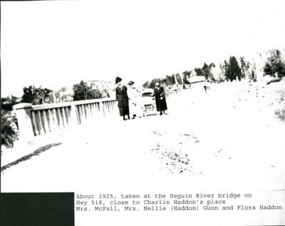 Seguin River Bridge 1925