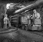 Ore Train at a Northern Ontario Copper-zinc mine