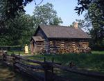 Ontario: Upper Canada Village - cabinetmaker's house on Mill Street