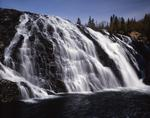 Ontario: Algoma region - High Falls on the Magpie River near Wawa